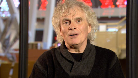 Simon Rattle conducts Beethoven's Ninth