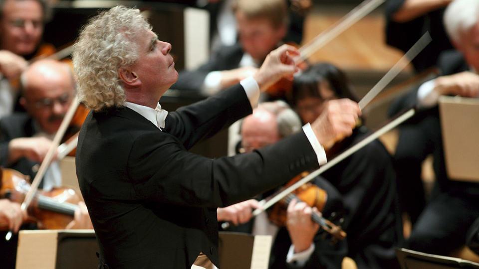 Simon Rattle dirigiert Mahlers Dritte Symphonie