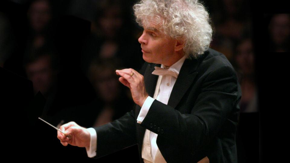 Simon Rattle dirigiert Mahlers Fünfte Symphonie