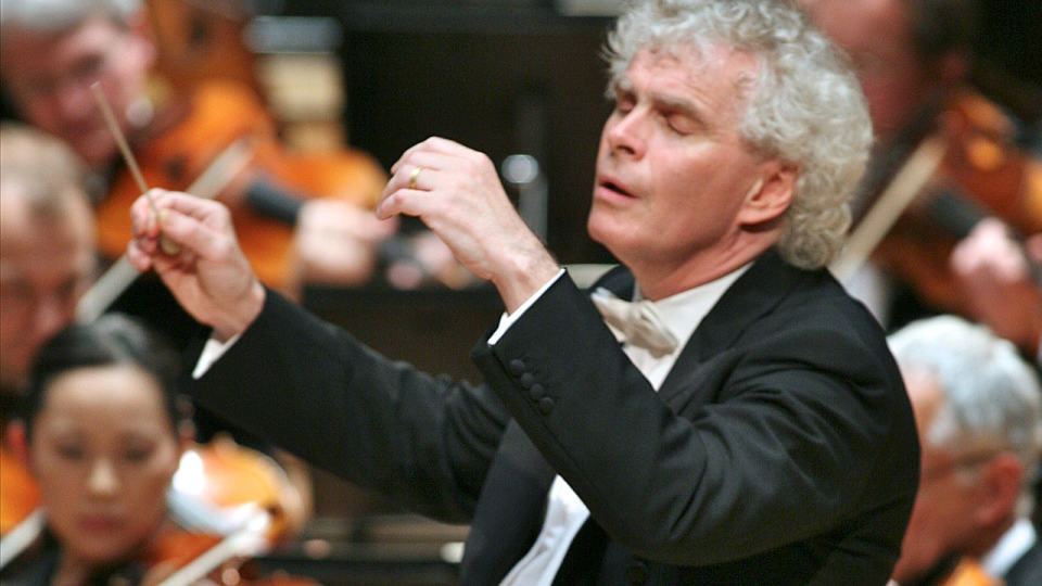 Simon Rattle dirigiert Mahlers Sechste Symphonie