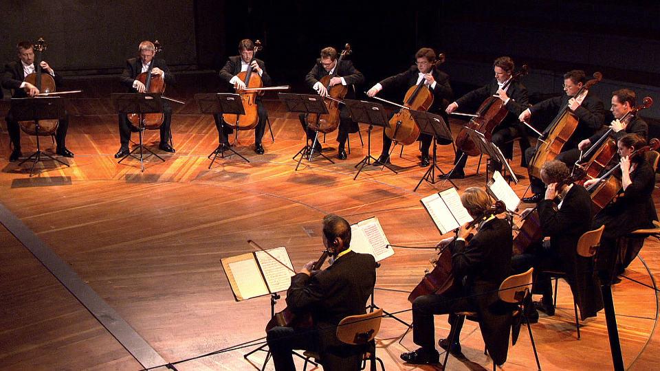 Geburtstagskonzert der 12 Cellisten der Berliner Philharmoniker