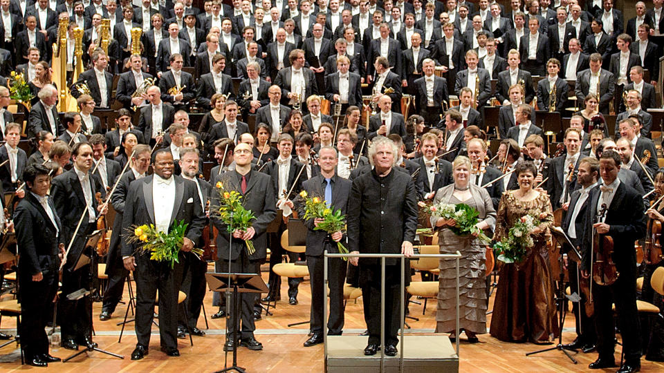 Simon Rattle conducts Gurre-Lieder