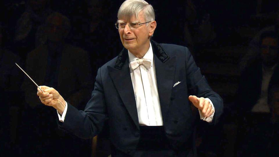 Herbert Blomstedt dirigiert Beethoven und Nielsen