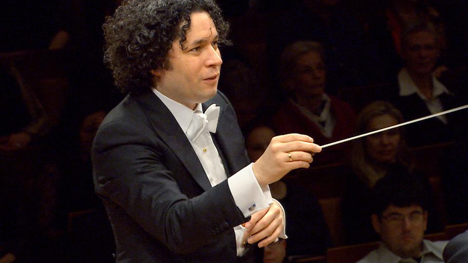 Gustavo Dudamel dirigiert Barber und Strauss