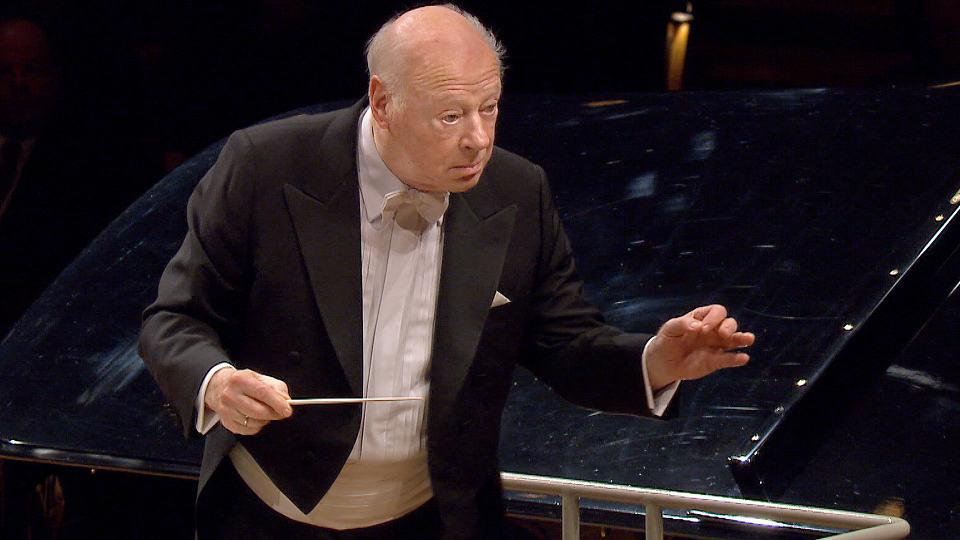 Bernard Haitink dirigiert Bruckners Symphonie Nr. 4