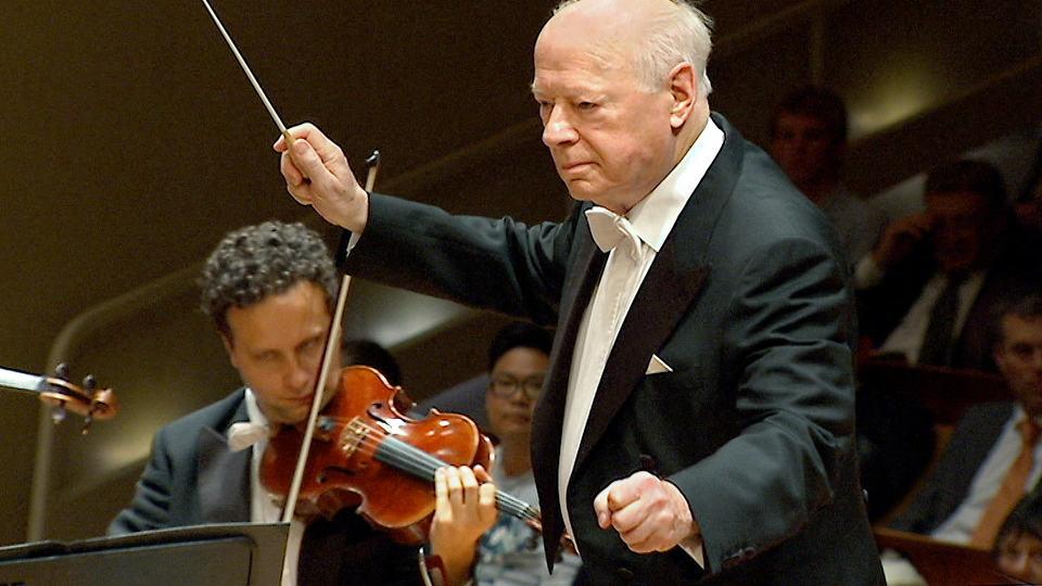 Bernard Haitink dirigiert Beethoven und Wagner