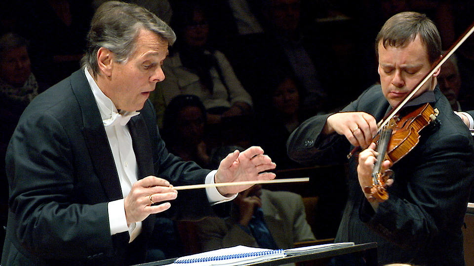 "Mariss Jansons conducts Dvořák's Symphony ""From the New World"""