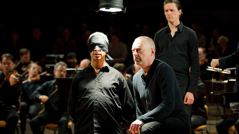 St John Passion with Simon Rattle and Peter Sellars