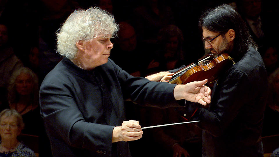 """Simon Rattle conducts Beethoven's """"Pastoral"""" Symphony"""