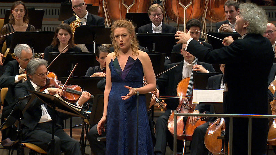 Simon Rattle and Magdalena Kožená with songs by Dvořák and Mahler