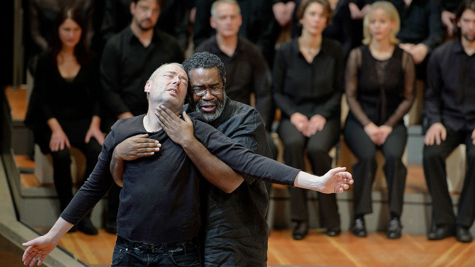 St Matthew Passion with Simon Rattle and Peter Sellars