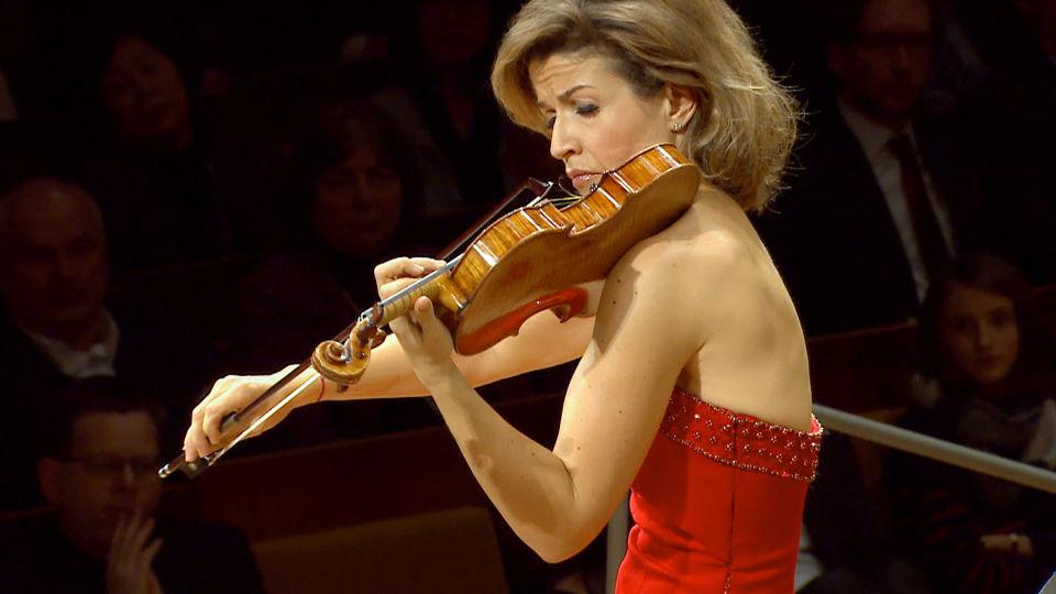 Anne-Sophie Mutter spielt Dvořáks Violinkonzert