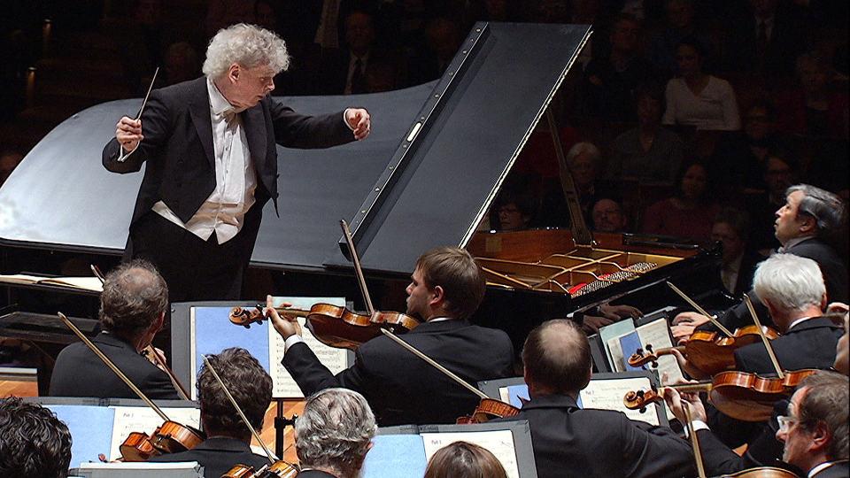 Murray Perahia und Simon Rattle mit Schumanns Klavierkonzert