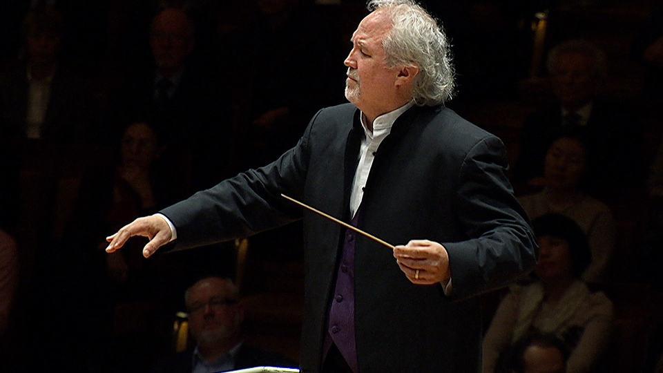 Donald Runnicles dirigiert Werke von Strauss und Elgar