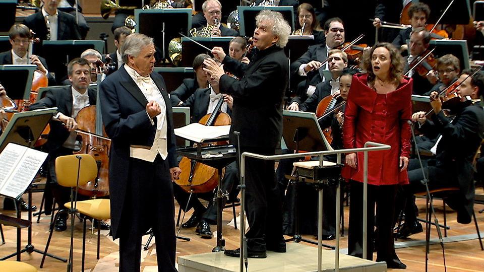 "Sir Simon Rattle conducts Wagner's ""Die Walküre"""