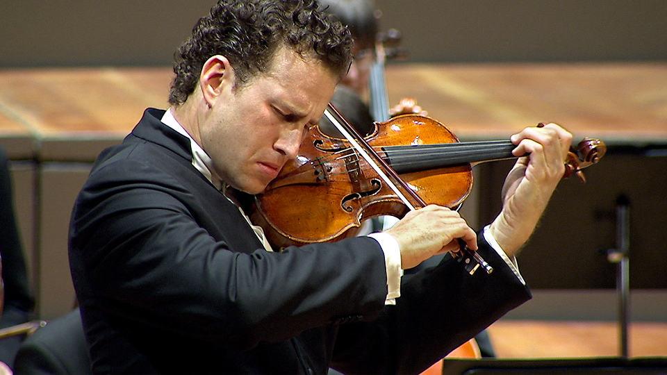 Juraj Valcuha and Nikolaj Znaider with the Violin Concerto by Jean Sibelius